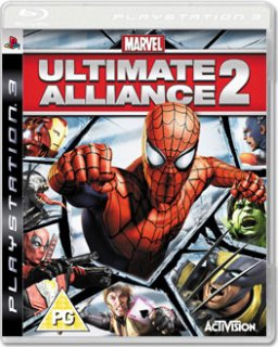Диск Marvel: Ultimate Alliance 2 [PS3]