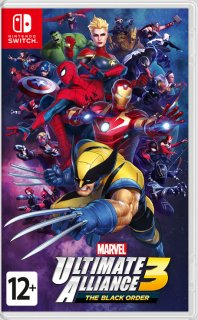 Диск Marvel Ultimate Alliance 3: The Black Order [NSwitch]