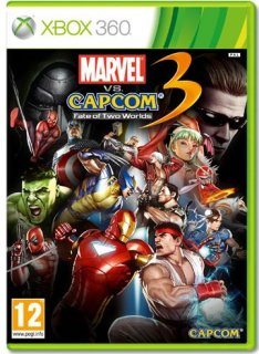 Диск Marvel vs Capcom 3: Fate of Two Worlds [X360]