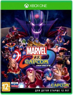 Диск Marvel vs. Capcom: Infinite [Xbox One]