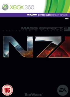 Диск Mass Effect 3 N7 Collectors Edition (Б/У) [X360]