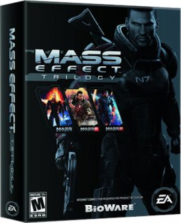 Диск Mass Effect Trilogy (US) (Б/У) [PS3]