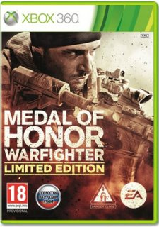 Диск Medal of Honor Warfighter Limited Edition [X360]