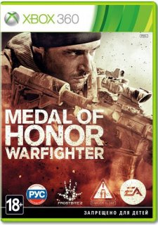 Диск Medal of Honor Warfighter [X360]