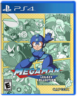 Диск Mega Man Legacy Collection (US) [PS4]