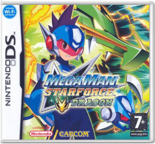 Диск MegaMan StarForce: Dragon (без пленки) [DS]
