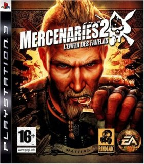 Диск Mercenaries 2 World in Flames [PS3]