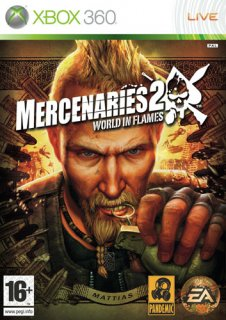 Диск Mercenaries 2 World in Flames [X360]