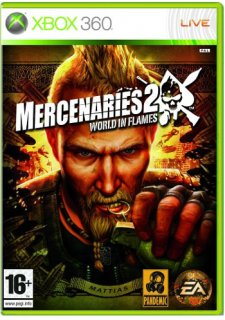 Диск Mercenaries 2 World in Flames (Франц. Яз.) (Б/У) [X360]