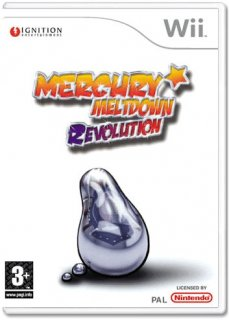 Диск Mercury Meltdown Revolution [Wii]