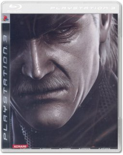 Диск Metal Gear Solid 4: Guns of the Patriots (ASIA) (Б/У) [PS3]