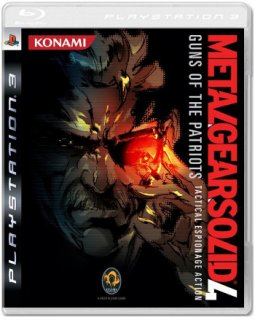 Диск Metal Gear Solid 4: Guns of the Patriots (Б/У) [PS3]