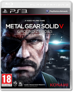 Диск Metal Gear Solid: Ground Zeroes [PS3]