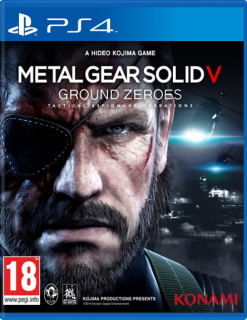 Диск Metal Gear Solid: Ground Zeroes [PS4]