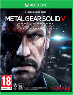 Диск Metal Gear Solid: Ground Zeroes [Xbox One]