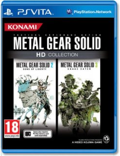 Диск Metal Gear Solid HD Collection (Б/У) [PS Vita]