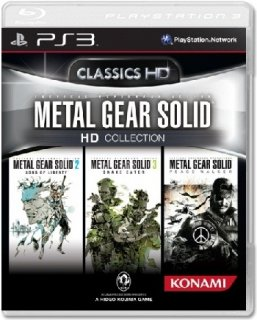 Диск Metal Gear Solid HD Collection (Б/У) [PS3]