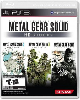 Диск Metal Gear Solid HD Collection (US) (Б/У) [PS3]