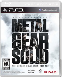Диск Metal Gear Solid: The Legacy Collection (US) [PS3]