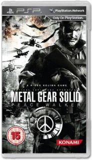 Диск Metal Gear Solid: Peace Walker [PSP]