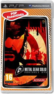Диск Metal Gear Solid: Portable Ops [PSP]
