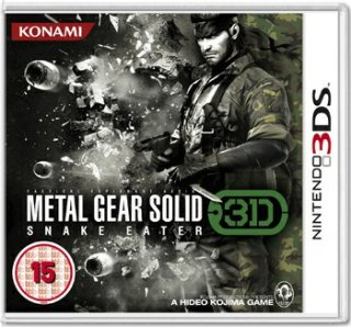 Диск Metal Gear Solid: Snake Eater 3D (Б/У) [3DS]