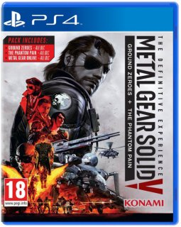 Диск Metal Gear Solid V: The Definitive Experience [PS4]