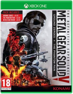 Диск Metal Gear Solid V: The Definitive Experience (Б/У) [Xbox One]