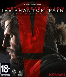 Диск Metal Gear Solid V: The Phantom Pain [PC]