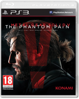 Диск Metal Gear Solid V: The Phantom Pain (Б/У) [PS3]