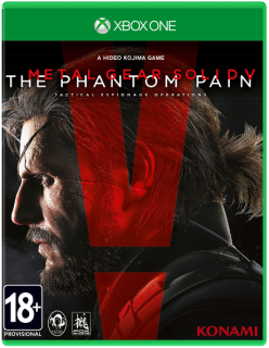 Диск Metal Gear Solid V: The Phantom Pain [Xbox One]
