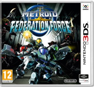 Диск Metroid Prime: Federation Force [3DS]