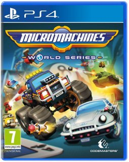Диск Micro Machines World Series [PS4]