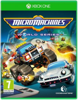 Диск Micro Machines World Series [Xbox One]