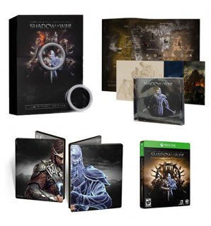 Диск Средиземье: Тени войны (Middle-earth: Shadow of War) Special Edition [Xbox One]