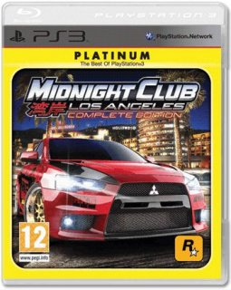 Диск Midnight Club: Los Angeles - Complete edition [PS3]