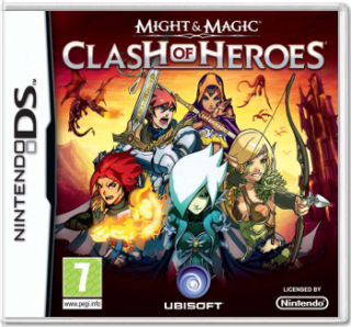 Диск Might and Magic: Clash of Heroes [DS]