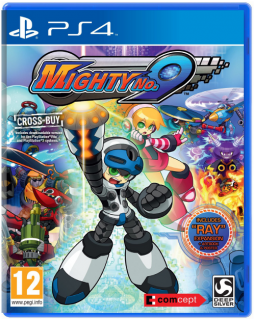 Диск Mighty No. 9 (Б/У) [PS4] (англ. версия)
