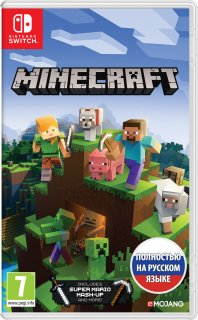Диск Minecraft - Bedrock Edition [NSwitch]