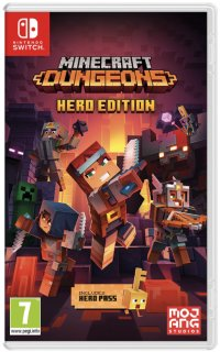 Диск Minecraft Dungeons - Hero Edition [NSwitch]