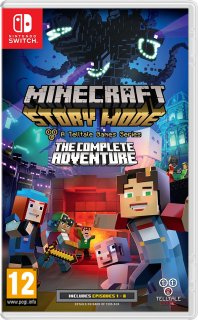 Диск Minecraft: Story Mode - Complete Adventure [NSwitch]