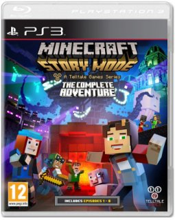 Диск Minecraft: Story Mode - Complete Adventure [PS3]
