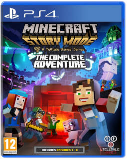 Диск Minecraft: Story Mode - Complete Adventure [PS4]