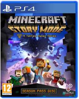Диск Minecraft: Story Mode [PS4]