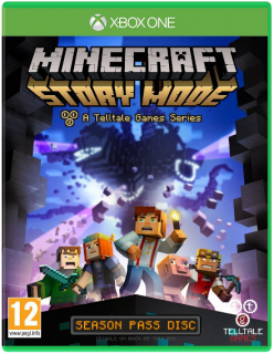 Диск Minecraft: Story Mode [Xbox One]