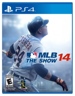 Диск MLB 14: The show [PS4]