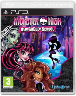 Диск Monster High: New Ghoul in School [PS3]