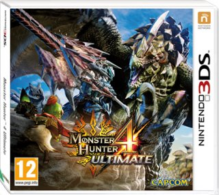 Диск Monster Hunter 4 Ultimate (Б/У) [3DS]