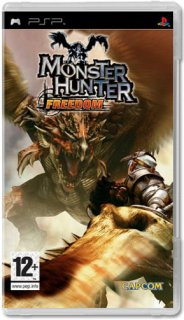 Диск Monster Hunter: Freedom [PSP]