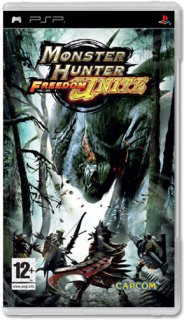 Диск Monster Hunter Freedom Unite [PSP]